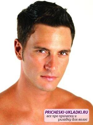 Модная укладка волос для мужчин