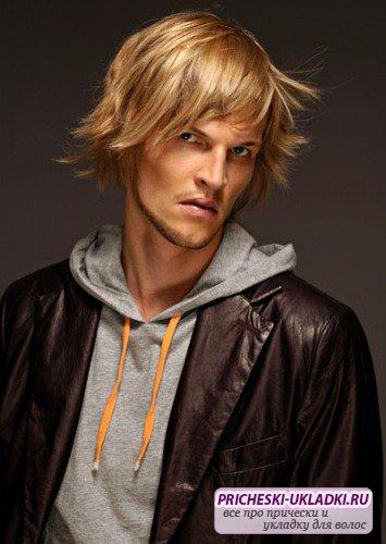 мужская стрижка модельная фото - каталог стрижек и причесок 2013 года.