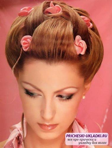 """На нашем женском сайте  """"Дамочка """" Вы в любое время можете отыскать новость - цветок из волос поэтапно, с..."""