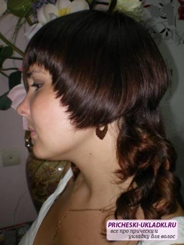 Короткие стрижки женские длинный перед короткий