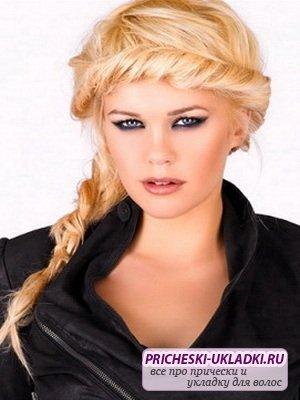 Прически на длинные волосы 2013