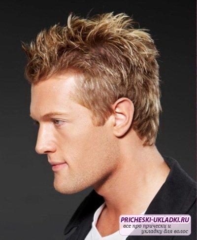 Классические прически мужские короткие волосы