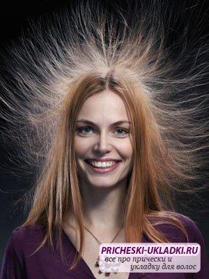 Что делать, чтобы волосы не электризовались зимой?