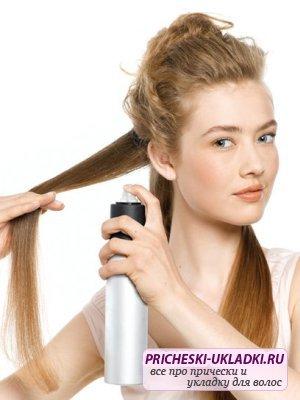 Простая укладка волос в домашних условиях