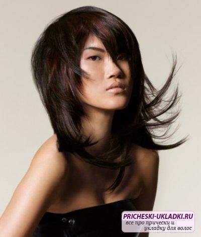 Стрижка каскад на средние волосы. Фото и видео