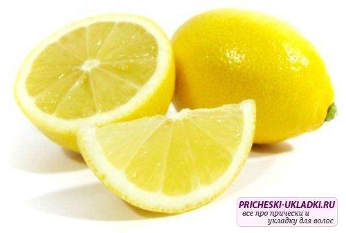 Эффективная маска для волос с лимоном