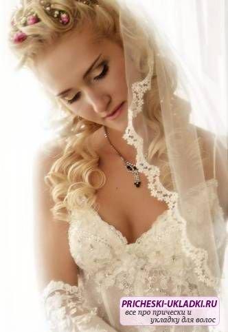 звездные свадебные прически 2012