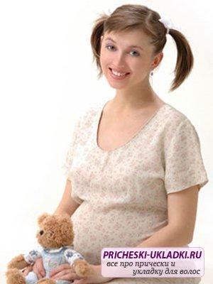 Самые лучшие прически для беременных