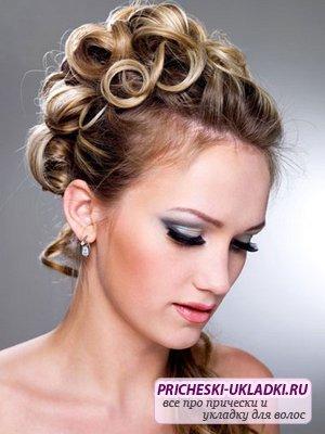 Укладки на выпускной для разной длины волос