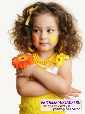 Детские прически на новый год 2014 для девочек