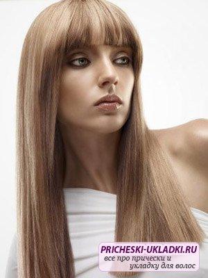 Ровные волосы – всегда в моде