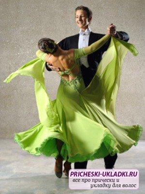 Выбираем прически для танцев