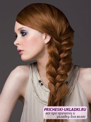 Модные причёски из косичек: лучшие варианты