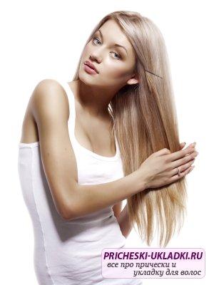 Делаем маску для гладкости волос