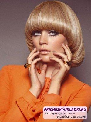 Прическа паж - стильно и модно