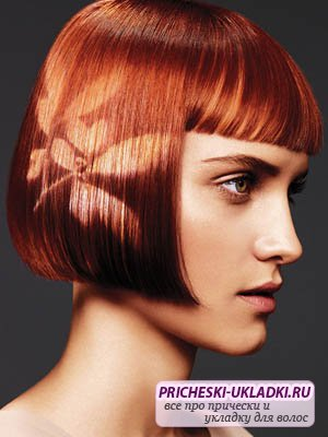 Рисунки на волосах – ваш яркий образ