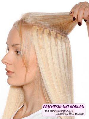 Что такое микрокапсульное наращивание волос?