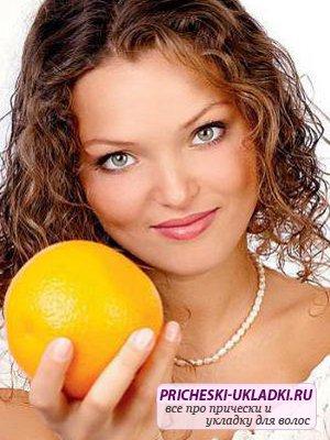 Лучшие фрукты для волос