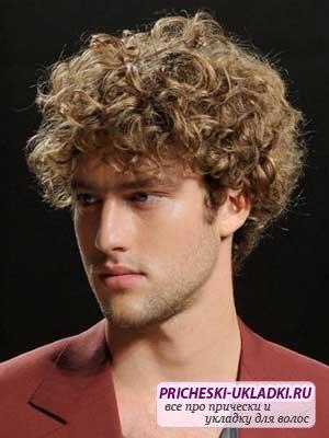 Кудрявые волосы мужские: как правильно ухаживать?