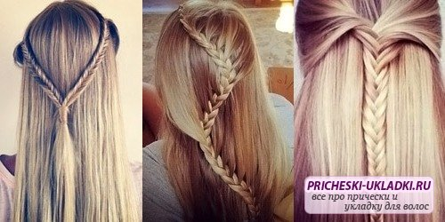 Делаем прически на детские волосы