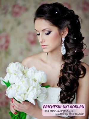 Идеи для свадебной прически (фото)