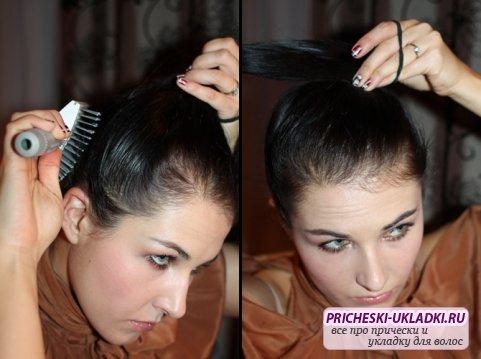 Как сделать причёску с помощью геля