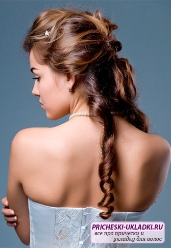 Самые быстрые прически на длинные волосы