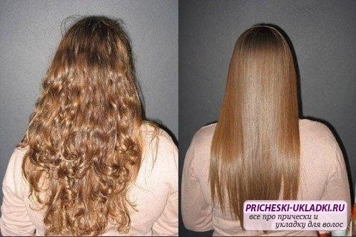 Все тонкости выпрямления волос