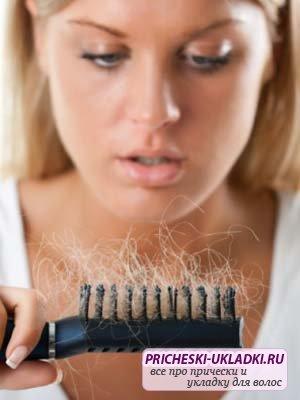 Если волосы лезут после родов…
