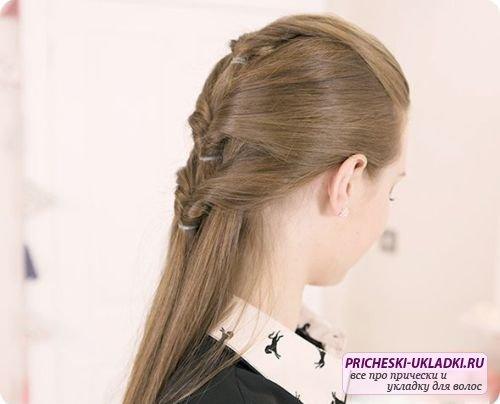 Прически для длинных волос для девочек. Фото, идеи и мастер-классы