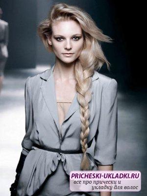 Тонкости плетения кос на длинные волосы