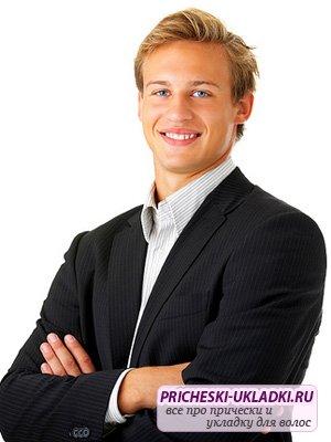 Какими должны быть мужские деловые прически?