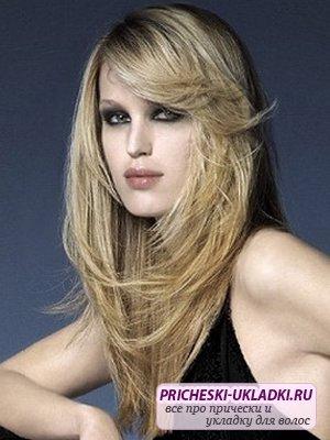 Стрижка волос лесенкой – модно и красиво