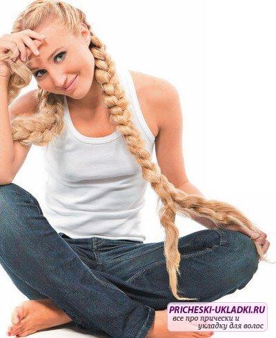 Тонкости укладки длинных волос с челкой