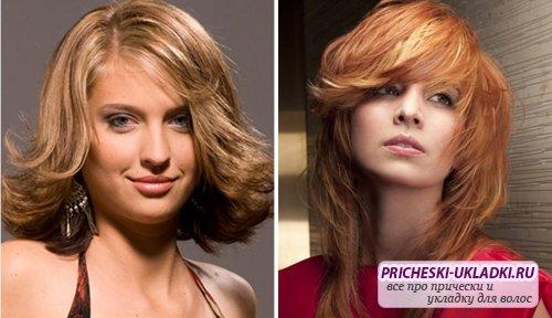 Особенности укладки каскада на средние волосы