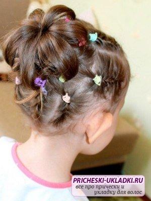 Лучшие причёски для средних волос для детей