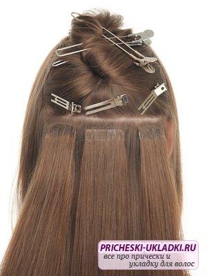 Тонкости наращивания волос на лентах