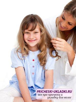 Правила ухода за детскими волосами