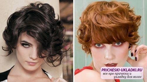 Оптимальные стрижки для волнистых волос