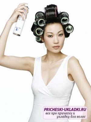 Тонкости укладки волос на бигуди