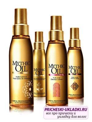 Масло для волос Лореаль Mythique Oil