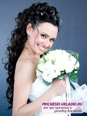 Прически невесты на длинные волосы. Лучшие идеи и варианты