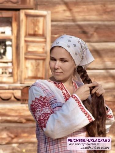 Самые красивые русские прически